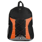 SumacLife Canvas Athletic Laptop Backpack (Orange)