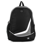 """SumacLife Compact Lightweight Nylon Casual Daypack 15"""" Laptop Backpack (Gray)"""