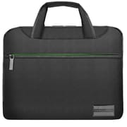 "Vangoddy NineO Laptop Messenger Bag 15"" (Grey/Green)"