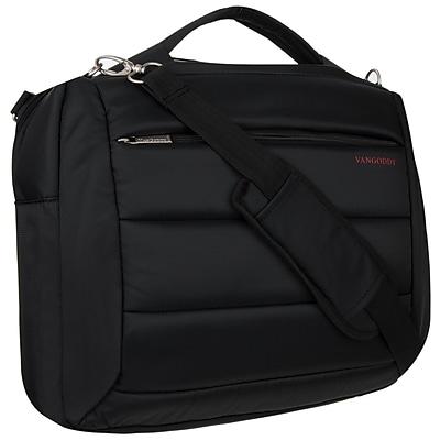"""Vangoddy Bonni 2 in 1, 15.6"""" Laptop Protector Shoulder Bag Backpack (Black)"""