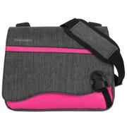 "Vangoddy Wave Messenger Laptop Bag 10.2"" (Magenta)"
