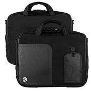 "Vangoddy Pindar Laptop Sleeve Messenger Shoulder Bag Fits up to 13"" Laptops - Medium (Black)"