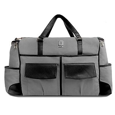 Lencca Alpaque Duffle Bag and Laptop Holder (Gray/Black)