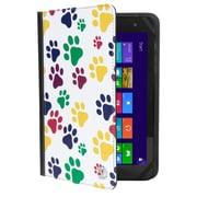 "Vangoddy Mary 2.0, 7 - 8"" Universal Wallet Tablet Portfolio Case (Paw)"