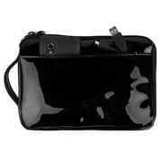 "Vangoddy Hydei 7"" Protector Case with Shoulder Strap with Handle (Black Patent Leather)"