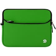 "Vangoddy 8"" Neoprene Water Resistant Laptop Sleeve Protector (Green/Black Trim)"