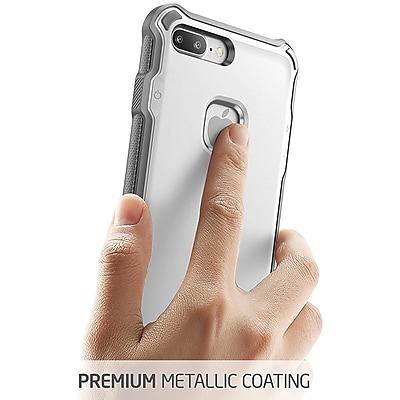 i-Blason Apple iPhone 7 Plus Venom Series Hybrid Ultra Slim Case,White