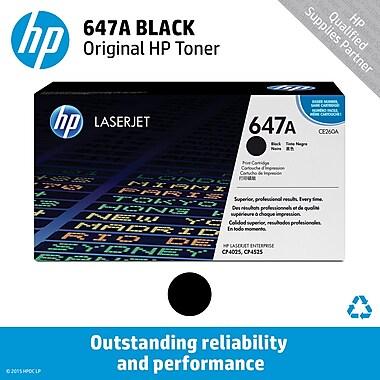 HP 647A Black Toner Cartridge (CE260A)