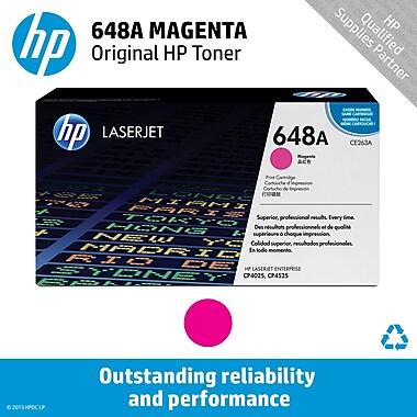 HP 648A Magenta Toner Cartridge (CE263A)
