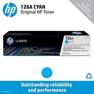 HP 126A Cyan Toner Cartridge (CE311A)