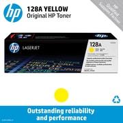 HP 128A Yellow Toner Cartridge (CE322A)