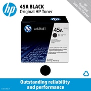 HP 45A Black Toner Cartridge (Q5945A)