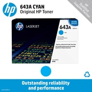 HP 643A Cyan Toner Cartridge (Q5951A)