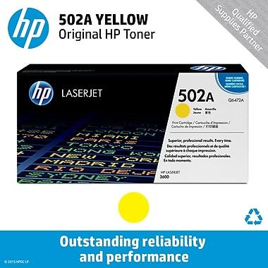 HP 502A Yellow Toner Cartridge (Q6472A)