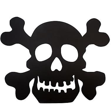 Design House Black Skull Silhouette Sign