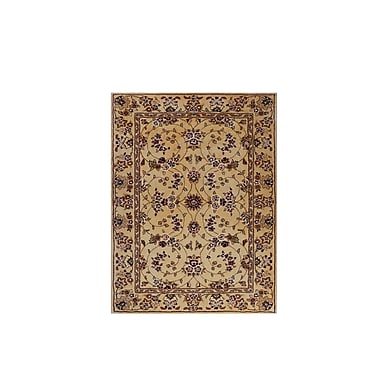 G.A. Gertmenian & Sons Drexel Heritage Hand-Tufted Beige/Red Area Rug; 3' x 4'6''