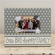 Glory Haus One Big Happy Family Picture Frame