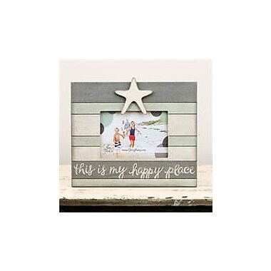 Glory Haus Happy Place Starfish Vintage Picture Frame