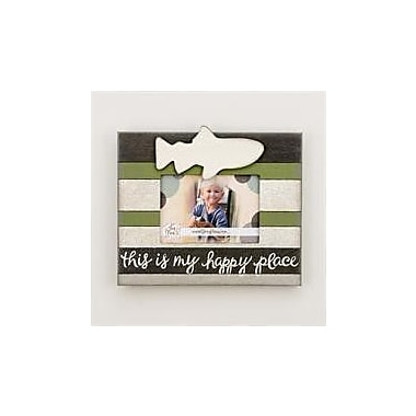 Glory Haus Happy Place Fish Vintage Picture Frame