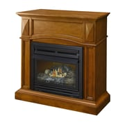 Pleasant Hearth Compact Vent-Free Dual Fuel Gas Fireplace