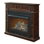Pleasant Hearth Full-Size Vent-Free Dual Fuel Gas Fireplace