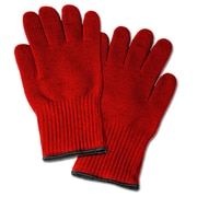 Imperial Home Oven Mitt (Set of 2); Red