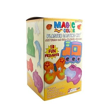 Activa® Magic Color Plaster Casting Kit, Camp, 6/Pack