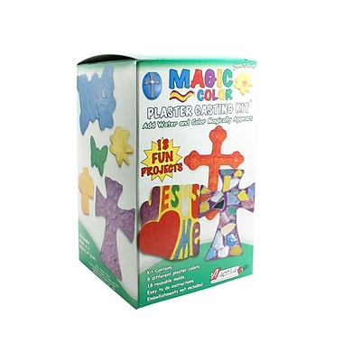 Activa® Magic Color Plaster Casting Kit, Vacation Bible School, 6/Pack