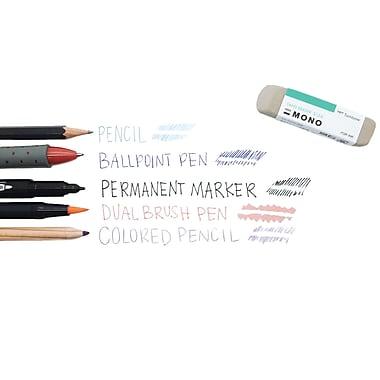 Tombow – Gomme à effacer pour crayons de couleur, 2/paquet (67304)