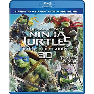 Les Tortues Ninja : La Sortie de l'ombre (Blu-ray 3D, Blu-ray, DVD)