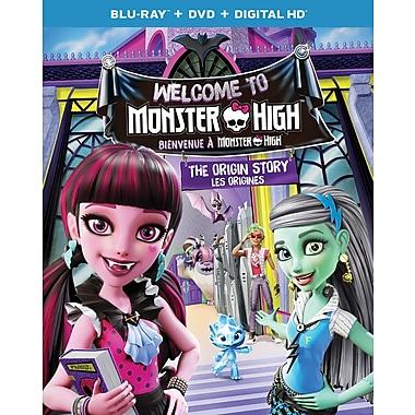 Monster High : Bienvenue à Monster High (Blu-ray/DVD)