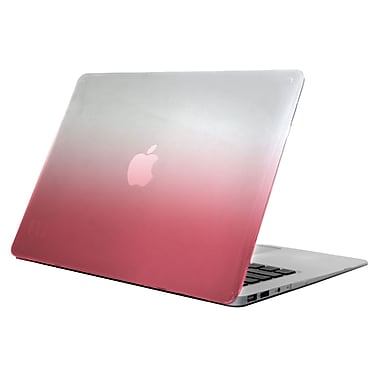 Uncommon – Étui Déflector transparent pour MacBook Air 13 po, rose dégradé (C2002OQ)