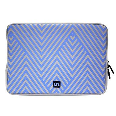 Uncommon – Housse en néoprène pour MacBook de 15 po, superbes lignes, bleu (S0048C)