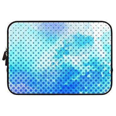 Uncommon – Housse de néoprène pour MacBook 13 po, petits pois bleu marine (C2001BJ)
