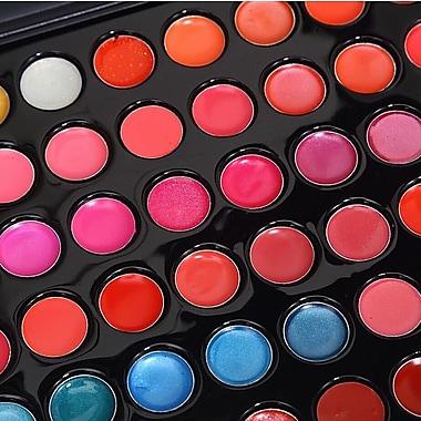 Zoe Ayla Cosmetics – Palette de rouge à lèvres professionnelle en 66 couleurs avec pinceau pratique, ensemble