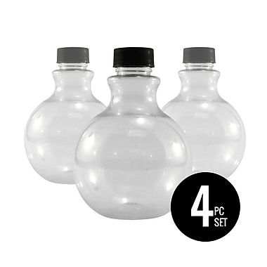 Sandtastik® Ball Sand Layering Bottles and lids Set, 4-Piece Set, 10/Pack