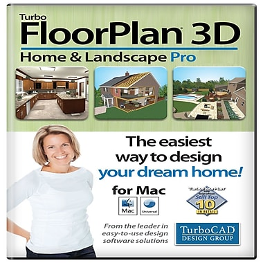 TurboFloorPlan Home & Landscape Pro 2015, Mac [Download]
