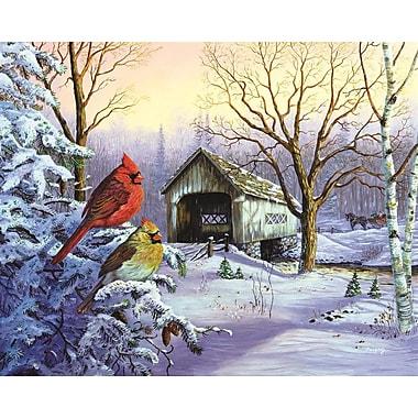 SpringBok – Casse-tête de 1000 pièces Snowy Heaven (SP3410751), 24 x 30 po