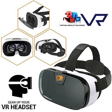 IMGadgets – Casque de réalité virtuelle et de cinéma maison mobile avec manette de jeu mobile Bluetooth (VIRREAL)