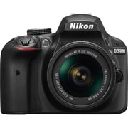 Nikon D3400 DSLR Camera, 18-55 mm Lens, Black (33891)