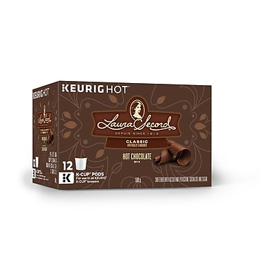 Laura Secord – Mélange classique pour Chocolat chaud, capsules K-Cup, paq./12 (83-21790)