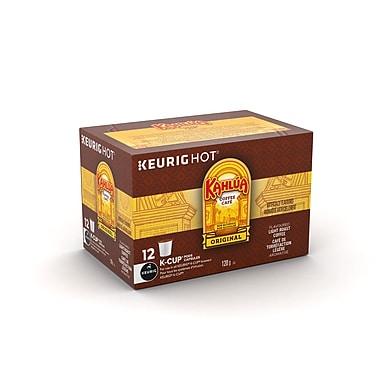 Kahlua Original – Café à torréfaction légère aromatisé a la liqueur de café, capsules K-Cup, paq./12 (96-03712)