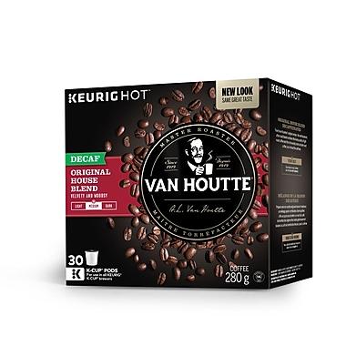 Van Houtte – Café mi-noir décaféiné Mélange maison, capsules K-Cup, paq./30 (40-73730)