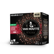 Van Houtte House Blend Decaffeinated Medium Roast K-Cup Refills, 30/Pack (40-73730)