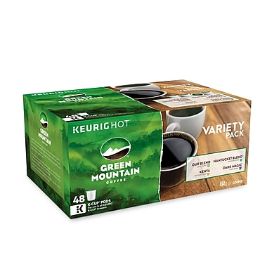 Green Mountain – Boîte variée, capsules K-Cup, paq./48 (94-98748)