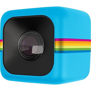 Polaroid Cube Lifestyle Action Camera, Blue (POLC3BL)