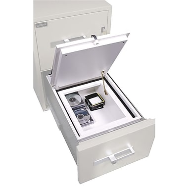 Gardex – Classeur de sûreté pour rangement de médias électroniques de 0,55 pi³, loquet de sécurité