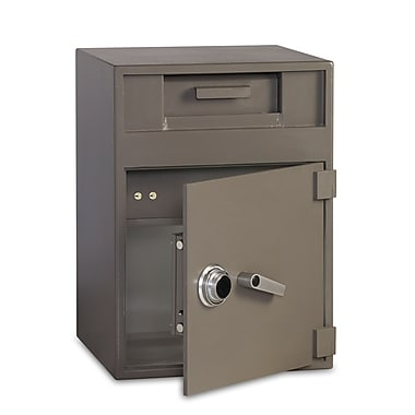 Gardex 2.4 cu.ft. + 1.12 cu.ft., Manual Combination Lock, Depository Safe with Separately Secured Inner Deposit Compartment