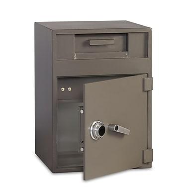 Gardex – Coffre-fort 2,4 pi³ + 1,12 pi³, cadenas à combinaison manuelle, compartiment intérieur de dépôt séparé et sécurisé