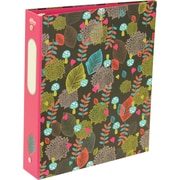 "Hilroy Recycled 1.5"" Round Ring Fashion Binder, Assorted Colours (29216)"
